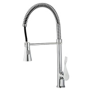 Contemporary / Modern Standard Spout Vessel Rain Shower / Widespread / Rotatable withCeramic Valve Single Handle One