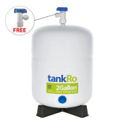 7.6l RO Expansion Tank – Compact Reverse Osmosis Water Storage Tank Reservoir by tankRO – with FREE Tank Ball Valve