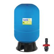 113.6l RO Expansion Tank – Large Reverse Osmosis Water Storage Tank Reservoir by tankRO – with FREE Tank Ball Valve