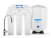 Professional 5 Stage Reverse Osmosis System Complete 75 GPD With filters, Lead Free Faucet & Tank - Built in USA