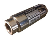 """TurboWerx Nickel-plated Exa-Pure 100µ Filtration System 3.5"""" long x 1.2"""""""