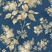 Fat Quarter Andover - Blue Sky - Lilacs Full Moon