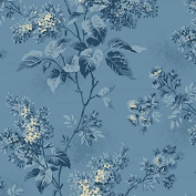 Fat Quarter Andover - Blue Sky - Lilacs Skys The Limit