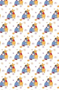 Fat Quarter Disney Pooh and Eeyore 100 % Cotton Quilting Fabric Craft Cotton