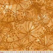 Cotton Fabric - Metre - Fabric Freedom - Melody - Butterflies Natural