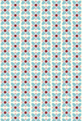 Ladybird Polycotton Fabric Sold by the Metre Natural