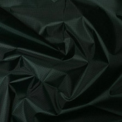 Nylon Ripstop Rip Proof Fabric Material For Crafts Clothing - Bottle Green