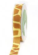 Giraffe Animal Print Velvet Ribbon 19mm Width - 1m 429-58-13