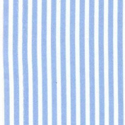 Pencil Stripe Cotton Poplin Fabric Material For Crafts Art - Baby Blue