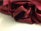 """Beautiful Superior Silky Shot Marooney / Red Silky Lining Fabric 56"""" 143cm Cloth Material Garment"""