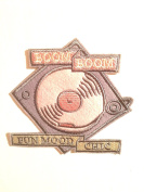 BooM BooM Fun Mood Chic quality made 10cm x 10cm sew on quality patch customise ur things girl fashion style great for jacket patch,jeans patches,vest patch, backpack patch or create your own style easy-n-quick