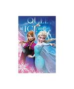 Disney Frozen Blanket Coral * Coral Fleece Blanket The Snow Queen Frozen Disney * 93x140 cm * BRAND NEW *