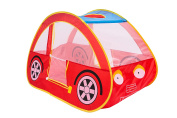 Play Kreative RED RACING CAR POP UP Play TENT – Pretend vehicle Kids Play house and carry Case. For outdoor/indoor child Playtime Activities. Great Birthday Gift for Children