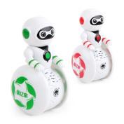 Robot Toys, Sacow Mini Electronic Smart Bot Robot Astronaut Kids Music Light Dancing Robot Toys