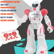 Inverlee Remote Control Robot Smart Action Infra-Red Allows Gesture Control Kids Toy Great Gift for Kids