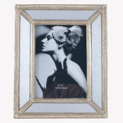 Gold Polyresin & Glass Oblong Photo Frame Large