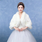Women's Wrap Shrugs Faux Fur Wedding / Party/Evening Pattern