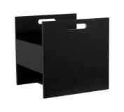 Atlantic 96636247 Record Crate, Black