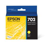 Epson T702420 DURABrite Ultra Yellow Standard Capacity Cartridge Ink