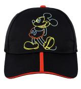 Disney Parks Mickey Mouse Flashback Adult Size Baseball Cap Hat