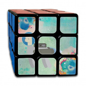 3x3x3 Magic CubeCool Astronaut Llama Game Puzzle Toys Rubik Cube For Adults Kids Anti Stress Anti-Anxiety