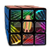 3x3x3 Cube GameDancing Hotdog Move It Game Puzzle Toys Rubik Cube For Adults Kids Anti Stress Anti-Anxiety