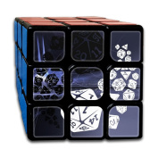 3x3x3 Cube GameDungeons And Dragons Yin Yang Good And Evil Dnd Game Puzzle Toys Rubik Cube For Adults Kids Anti Stress Anti-Anxiety