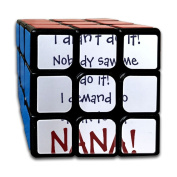 3x3x3 Puzzle CubeI Demand To Speak To My Nana Game Puzzle Toys Rubik Cube For Adults Kids Anti Stress Anti-Anxiety