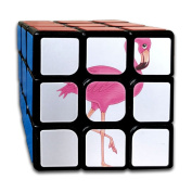 3x3x3 Puzzle CubeThe Cute Beautiful Pink Flamingo Poster Game Puzzle Toys Rubik Cube For Adults Kids Anti Stress Anti-Anxiety