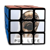 3x3x3 Puzzle CubePug Life Game Puzzle Toys Rubik Cube For Adults Kids Anti Stress Anti-Anxiety
