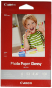 CanonInk Glossy Photo Paper 10cm x 15cm 100 Sheets
