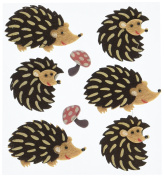 Jolee's Boutique Dimensional Stickers-Hedgehogs
