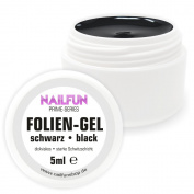 NAILFUN Black UV Foil Gel 5ml