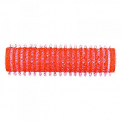 PROFESSIONAL SALON hook and loop CURLERS ROLLERS - 13mm RED