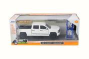 2014 Chevrolet Silverado, White - Jada 54027/W16 - 1/24 Scale Diecast Model Toy Car