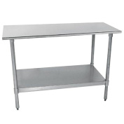 Economy Stainless Steel Top Workbench Size