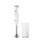 White with Tescom stick blender blend cup THM311-W