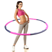 PDR 8 Sections Slimming Artefact Removable Fitness Hula Hoop Convenient To Help You Exercise In The Most Simple And Fun Way To Lose Weight Exercise