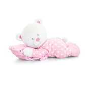 Keel Toys Children/Kids Baby Bear On Pillow (One Size)