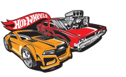 Baby Kids Mattel Hot Wheels 267557 Wall Decoration Wall Decal Embossed Wall Sticker 30 x 25 CM