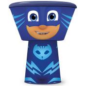 Childrens 3 Pc Stacking Bowl, Plate & Cup/mug Meal Dinner Set Plastic Picnic Snack Box Fresh Food- PJ Masks