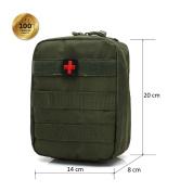 Ponixa Outdoor Tactical First Aid Bag MOLLE Bag
