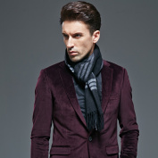 Men's scarf thick warm wool cashmere scarf