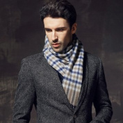 Plaid winter man thickening wool scarf cashmere scarf