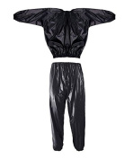 BodyRip Unisex Weight Loss Sauna Suit, Black, One Size