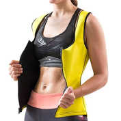 Intensive Sweat Gilet With Zip For Women – Increases The Temperature of your body for Moisture and help eliminate fats and toxin