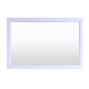 Eviva EVMR299-36WH Shaker Bathroom Mirror, 30, White