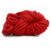 Super Chunky Roving Big Yarn, FAVOLOOK DIY Soft Bulky Arm Wool Yarn for Hand Knitting Crochet