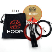 frenchoop Super Fast – Lifetime Guarantee – alimunium Handle Skipping Rope – Adjustable Length 3 m Section, Light Weight – 2.5 mm², Crossfit, WOD,, Boxing, MMA, Martial Arts – Adjustable for Adults, Men, Women and Children.