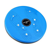 Torsion Waist & Hips Twist Exercise Board for Fitness and Exercise Blue